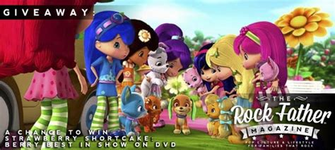 Strawberry Shortcake Giveaways - giveaway win strawberry shortcake berry best in show on dvd