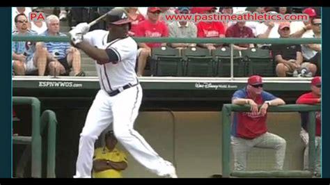 justin upton swing justin upton slow motion home run baseball swing hitting