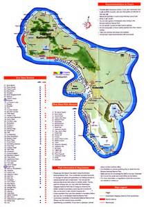 bonaire map bonaire restaurants map images