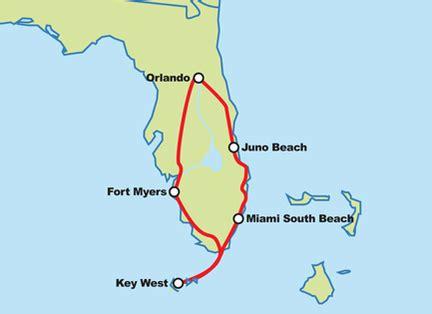Motorradtour Km Pro Tag by Florida Keys Motorradtour Gef 252 Hrte Motorradtour