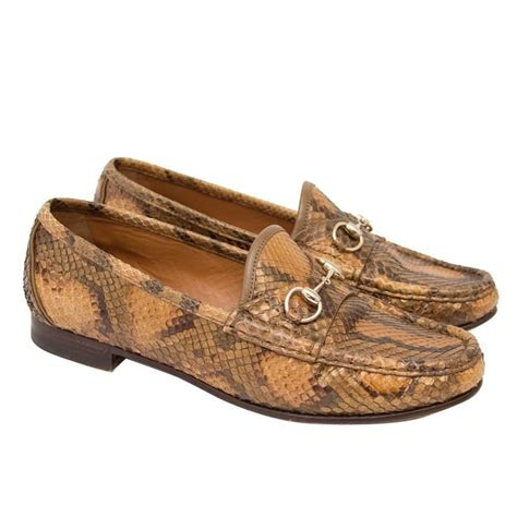 louis vuitton python loafers gucci python horsebit loafers for sale at 1stdibs