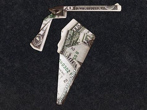 Dollar Bill Origami Sword - origami weapons on 100 inspiring ideas to