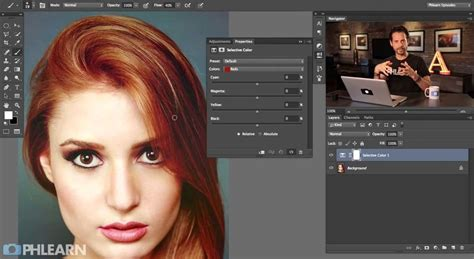 changing colors in photoshop changing hair color in photoshop