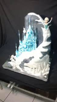 Pastel de frozen monta 209 a castillo princesa elsa y olaf more