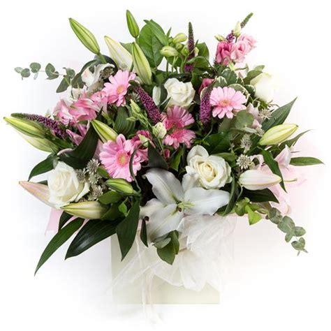 Gift Letter Ellie Mae Pink White Gift Bag Ellie Mae Florists Benfleet