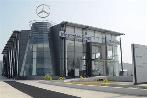 Mercedes Mumbai City Showroom and Karnal Dealership update