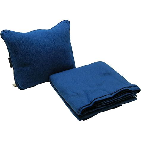 Throw Blankets And Pillows by Pillow And Blanket Travel Comfort Set Blue Luggage