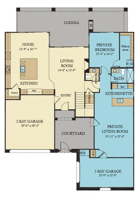 anchor the home within a home new home plan in summerlin
