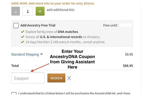 ancestry dna kit coupons 2018