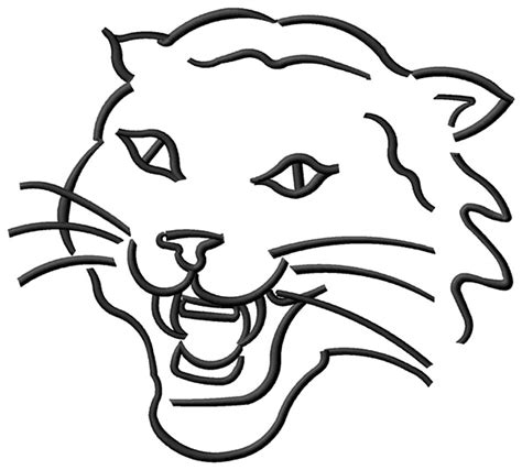 wildcat coloring pages clipart