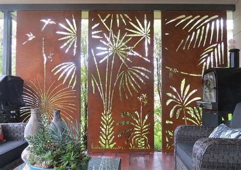urban design systems native  decorative laser cut metal