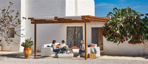 unopiu gazebo pergola kits garden patio modern italian design