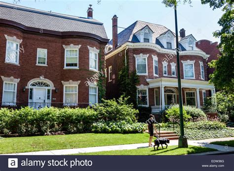 houses to buy in chicago chicago illinois south side south woodlawn avenue houses homes stock photo royalty