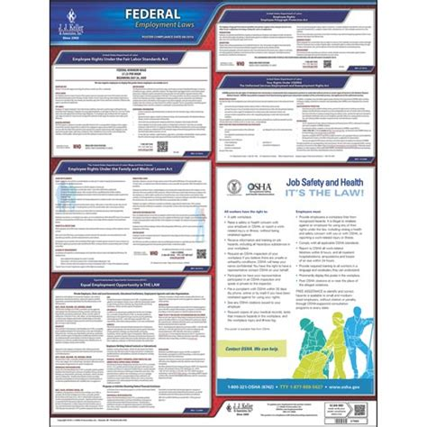 printable fmla poster federal labor law poster with fmla notice