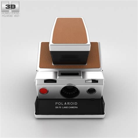 polaroid model polaroid sx 70 3d model hum3d