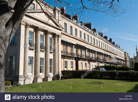 buy a house in cheltenham a row of regency style houses in suffolk square in cheltenham stock photo royalty