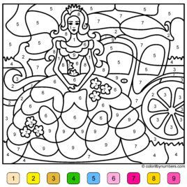 princess coloring pages by numbers princess color by number all about coloring pages