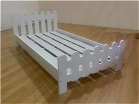 Picket Fence Bed Frame Picket Fence White Platform Bed Frame Or Size Ebay