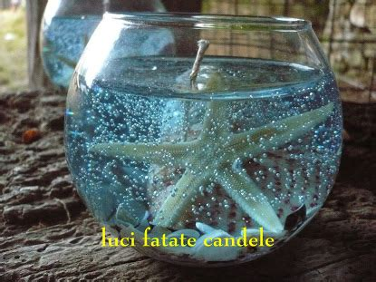 candele in gel fatate candele