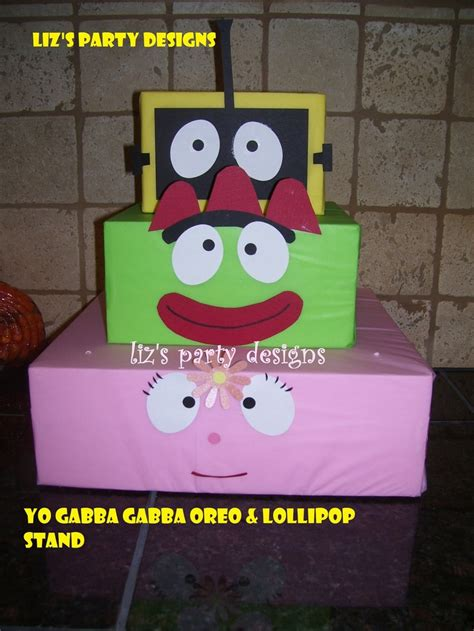 yo gabba gabba centerpieces 90 best yo gabba gabba ideas images on