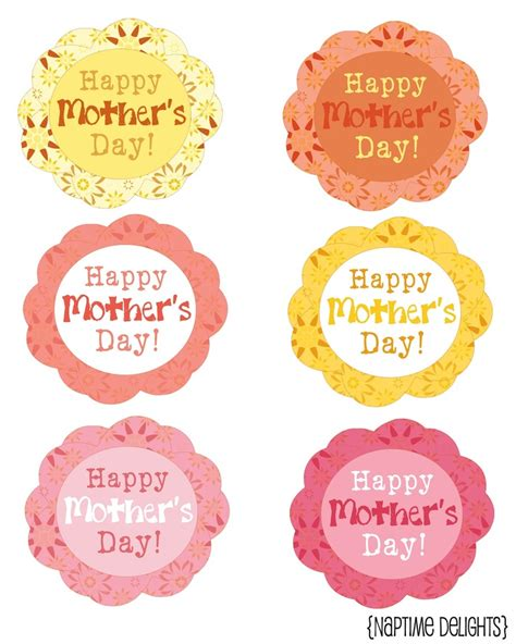 free printable gift tags mothers day mother s day gift tag printables pinterest