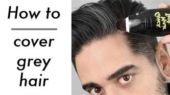 hair grooming tips for how to cover grey hair rire quick tint brush review men