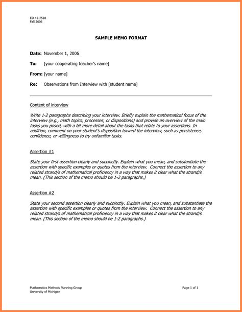 Mba Waiver Sle Test Accounting Finance by 7 Proper Memo Format Marital Settlements Information