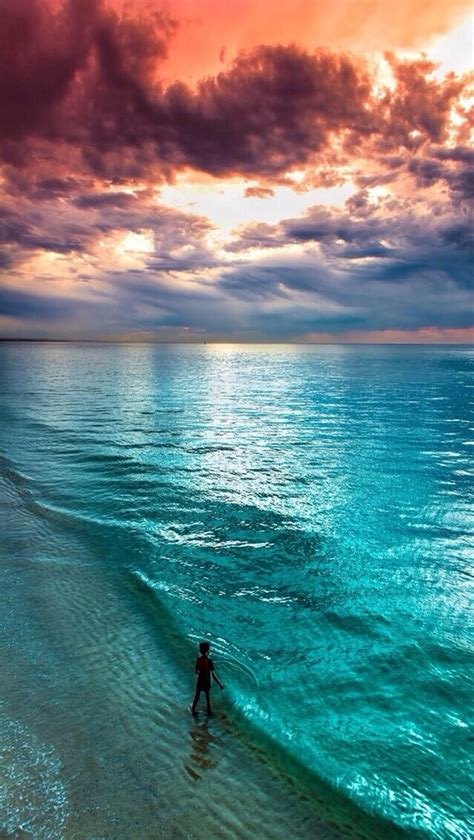 relaxing blue wallpapers sunset sea image 2922845 by miss dior on