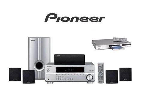 pioneer htp2500s 1000 watt home theater systems dvd player