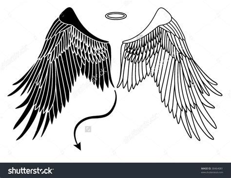 tattoo wings angel devil angel wing and demon wing tattoo amazing tattoo