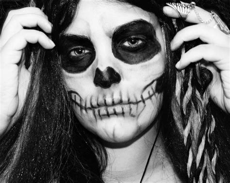 Maquillaje Para Hombres Esqueleto | maquillaje para disfraz de esqueleto para halloween 2014