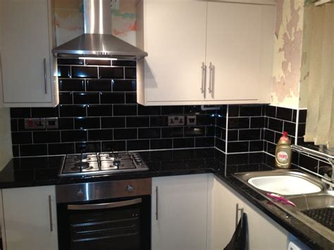 black kitchen tiles ideas kitchen fitter carpenter joiner window fitter in hull