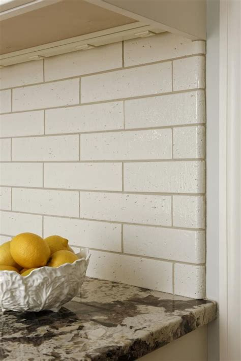 Kyoto Beige Gloss Brick tile with matching bullnose