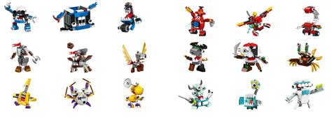 Lego 41569 41570 41571 Mixels Series 8 Medix Tribe mixels 2016 discussion lego figures eurobricks