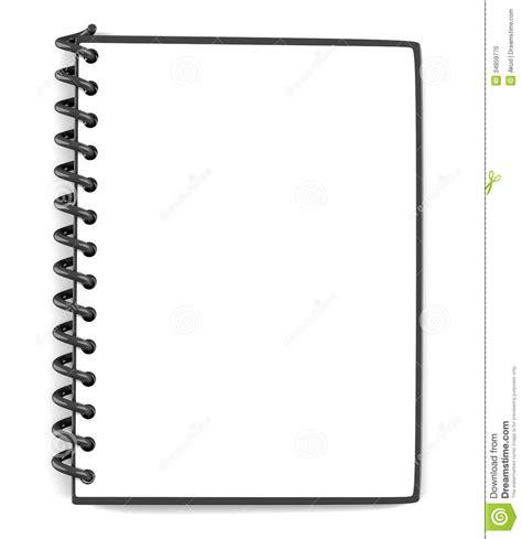 Flip Cover Speedup Pad 7 85 空白的笔记薄 库存例证 插画 包括有 办公室 空白 笔记本 剪贴板 国界的 复制 空白的 看板卡