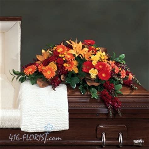 Autumn Flower Single Sprei autumn flowers casket spray