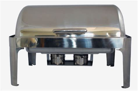 Sunnex Roll Top Rectangular 85lt dinnerware serving dishes chafing dish roll top