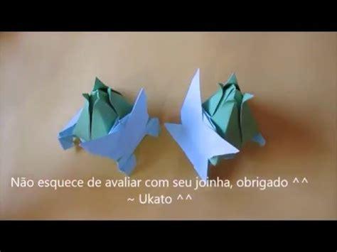 Bulbasaur Origami - bulbasaur de origami