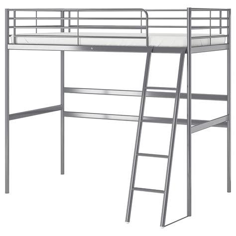 sv 196 rta loft bed frame silver colour 90 x 200 cm ikea