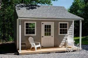 Shed Designs With Porch by Vinyl Shake Shed With Farmers Porch Post Woodworking