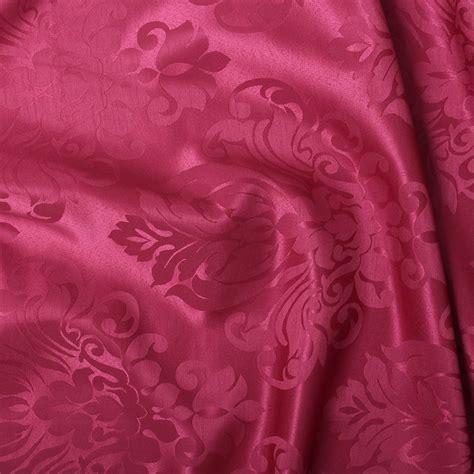 Jaguard Silk floral damask faux silk jacquard curtain upholstery fabric material 12 colours ebay
