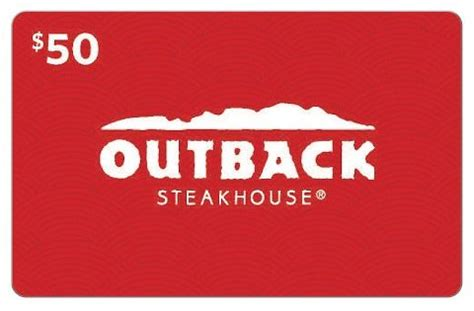 Where Can I Use An Outback Gift Card - 5 things to check out the big australian menu at outback 50 gift card giveaway