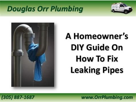 Stop Plumbing Leaks by A Homeowner S Diy Guide On How To Fix Leaking Pipes