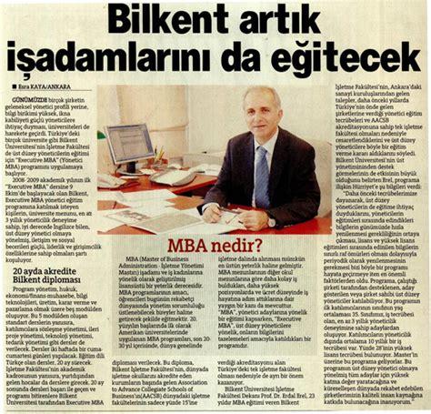 Bilkent Mba by Bilkent Universitesi Basinda Bilkent