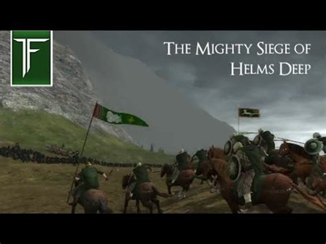 Mighty Siege the mighty siege of helms third age total war