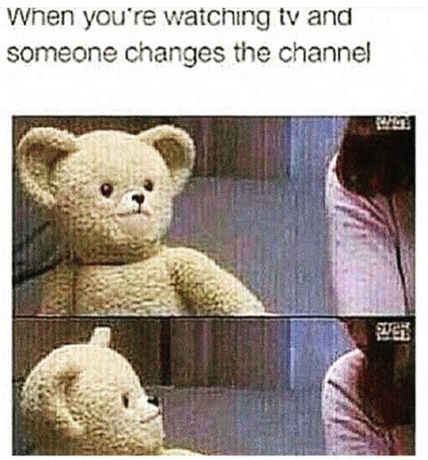Meme Tv - watching tv funny meme gif