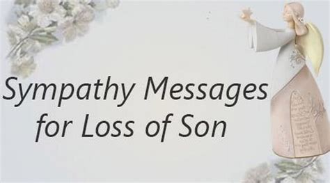 words of comfort for loss of son loss of son quotes quotesgram