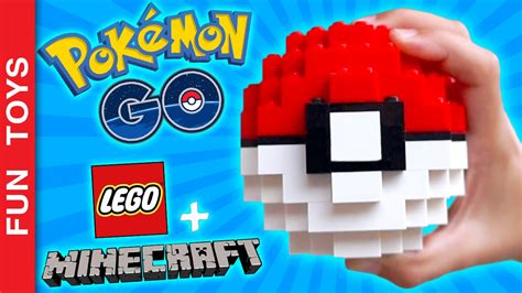lego pokeball tutorial pokeball with lego e minecraft diy your own pokeball