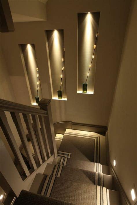 treppenaufgang dekorieren 50 bilder und ideen f 252 r treppenaufgang gestalten