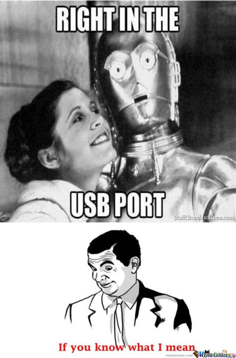 Usb Meme - in the usb port by auburnwde1993 meme center